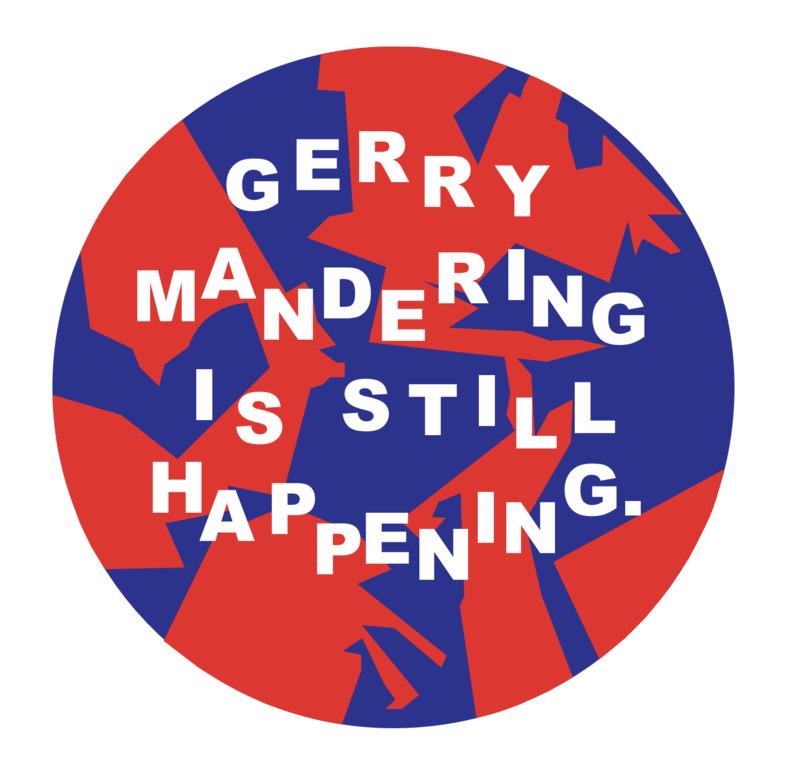 Gerry mandering is still happening