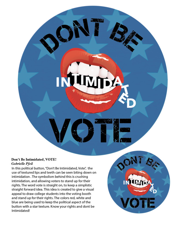 Don't be intimidated; vote