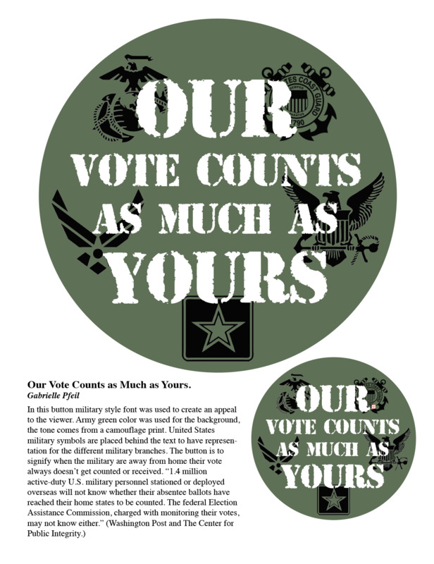 Our vote counts as much as yours