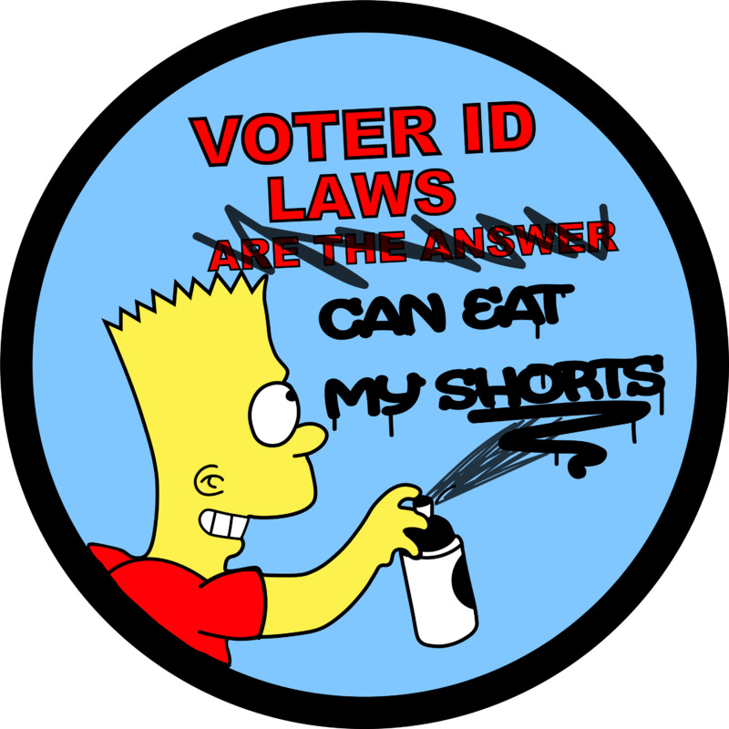 Votert ID Laws Can Eat My Shorts